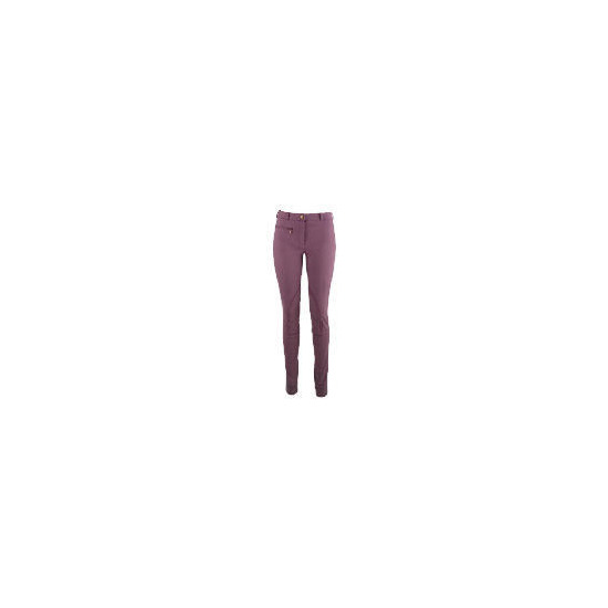 Tesco Ladies Mid Purple Jodhpurs