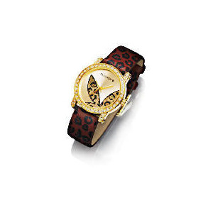 Photo of PLAYBOY ANIMAL PRINT STRAP WATCH Jewellery Woman