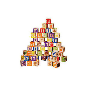 Photo of Tesco Learn Together Wooden Alphabet Blocks 50PC Toy