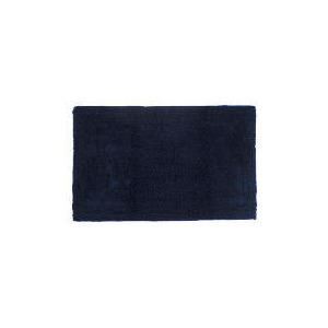 Photo of Tesco Bath Mat Egyptian Navy Bathroom Fitting