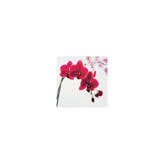 Pink Orchid Printed Canvas 40x40cm