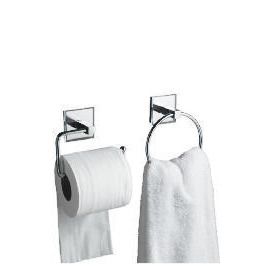 Lincoln Square Tube Towel Ring And Toilet Roll Holder Reviews