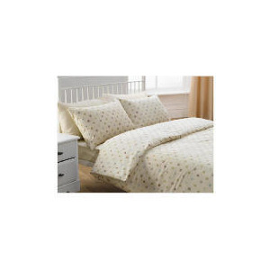 Photo of Tesco Twinpack Eco Squares Double, Cream Bed Linen