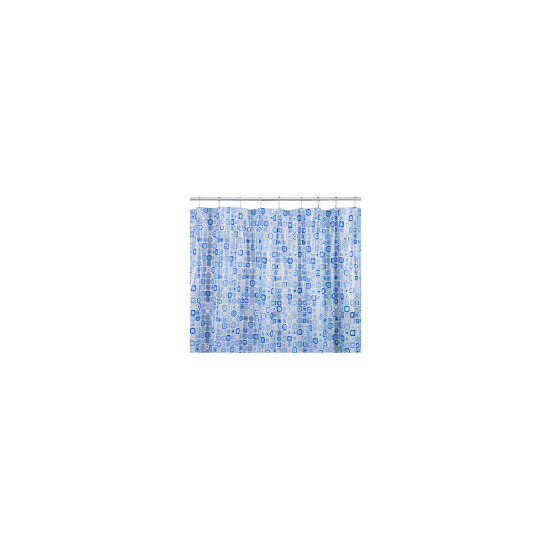 Croydex Patterned Shower Curtain Mosaic