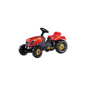 Photo of Red Pedal Tractor Toy