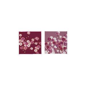 Photo of Berry Blossom Canvas Set Of 2 30X30CM Home Miscellaneou