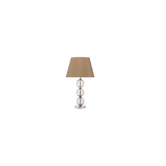 Tesco Pebble Table Lamp, Smokey