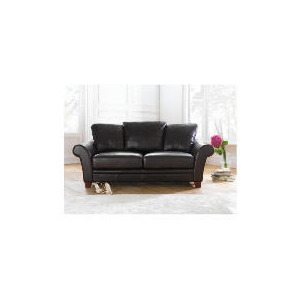 Photo of Carolina Large Leather Sofa, Chocolate Furniture