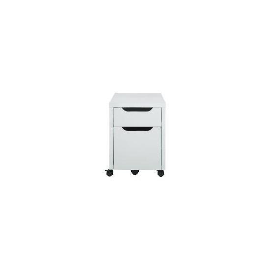Compac Filer, White