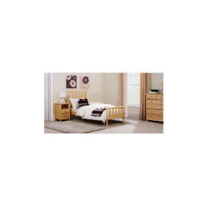 Photo of Fairhaven Single Bed Frame, Natural Bedding