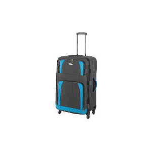 Photo of Constellation 4 Wheel Charcoal Trolley Case Large Luggage