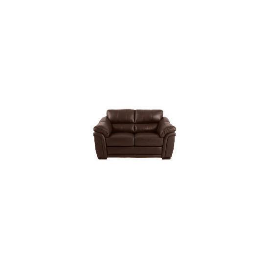 Avignon Leather Sofa, Chocolate