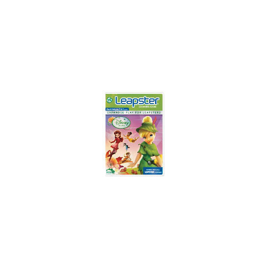Leapfrog Leapster Disney Fairies Software