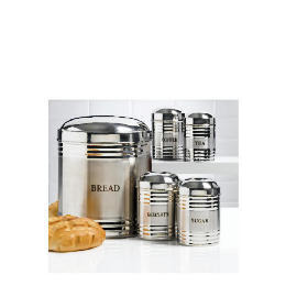 Tesco Bread Bin And Cannister Set Reviews