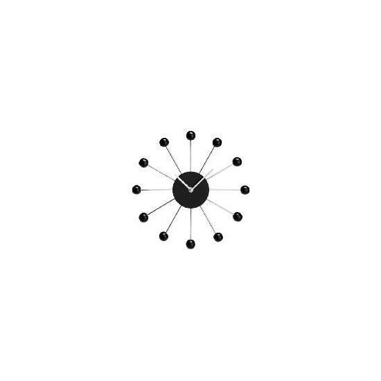 Acctim Black Spoke Clock