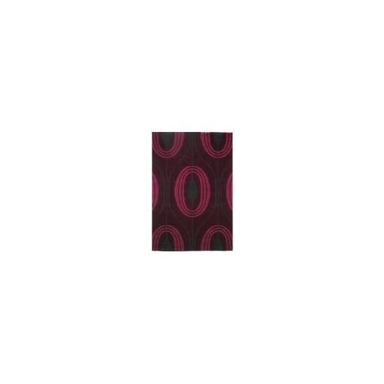 Tesco Global Teardrop Design Rug Purple 160x230cm