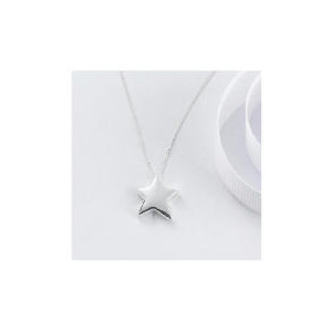 Photo of Sterling Silver Star Pendant Jewellery Woman
