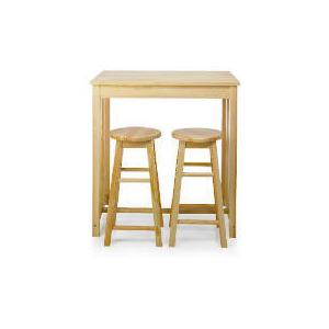 Photo of Pair Of Pine Barstools Furniture
