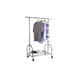 Photo of Stainless Steel Garment Rail Household Storage