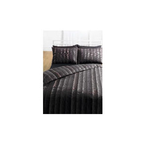 Photo of Tesco Dotty Print Duvet Set Double, Black Bed Linen
