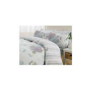 Photo of Tesco Chrysanthemum Print Duvet Set Kingsize, Ivory Bed Linen