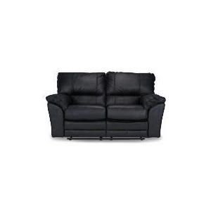 Photo of Madrid Leather Recliner Sofa, Black Furniture