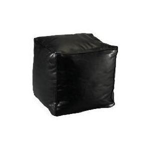 Photo of Bean Cube Faux Leather, Black 45X45 Furniture