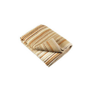 Photo of Thermosoft Stripe Throw, Natural Cushions and Throw