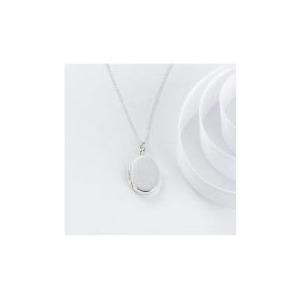 Photo of Sterling Silver Oval Locket Jewellery Woman