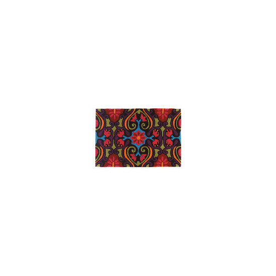 Bright Ethnic Design Multi Rug 210x170cm Acrylic