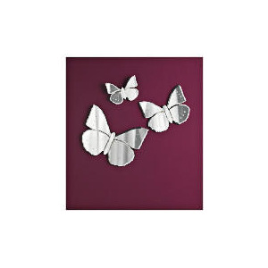 Photo of Venetian Set Of 3 Butterfly Mirrors Home Miscellaneou