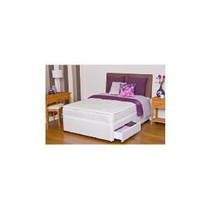 Photo of Silentnight Miracoil 3-Zone Supreme Minnesota Super King 2 Drawer Divan Set Bedding