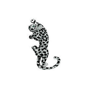 Photo of PAVE LEOPARD BROOCH Jewellery Woman