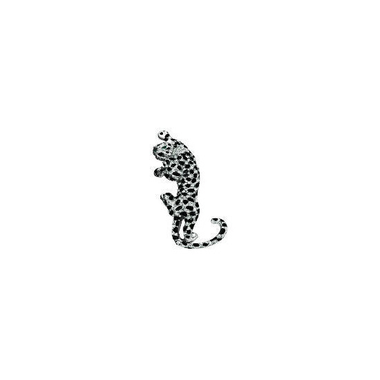 PAVE LEOPARD BROOCH