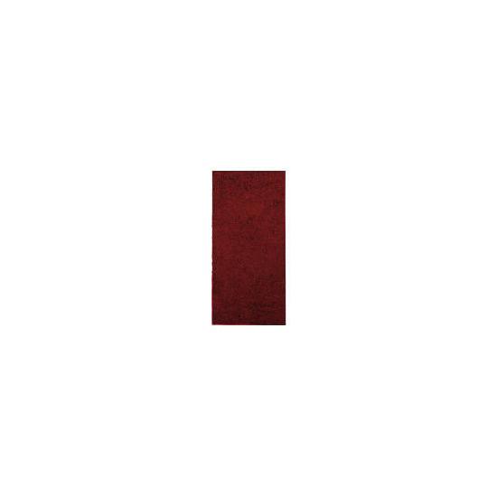Tesco Shaggy Rug 60x120cm Red