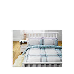 Tesco Pastel Check Print Duvet Set Double, Pastel Reviews