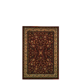 Tesco Luxor Traditional Borders Rug 120x170cm Red Reviews