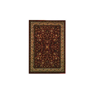 Photo of Tesco Luxor Traditional Borders Rug 120X170CM Red Rug