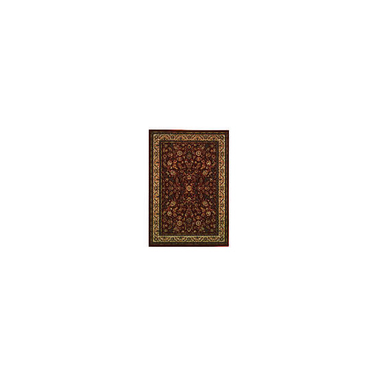 Tesco Luxor Traditional Borders Rug 120x170cm Red