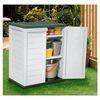 Photo of Rowlinson Plastic Garden Storage Cupboard Garden Furniture