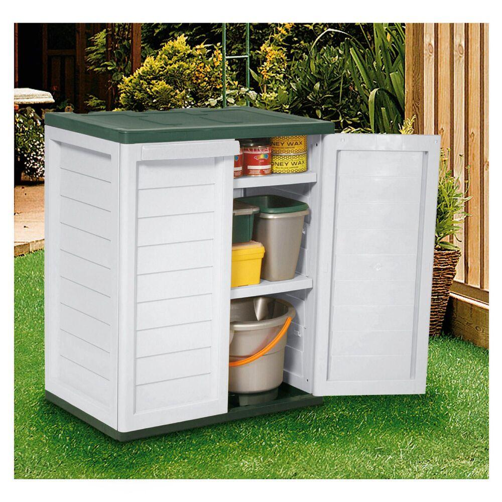 Rowlinson Plastic Garden Storage Box Garden Ftempo