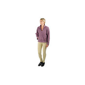 Photo of Tesco Ladies 3 In 1 Waterproof Riding Jacket Size 14 Purple / LT Purple Trim Sports and Health Equipment