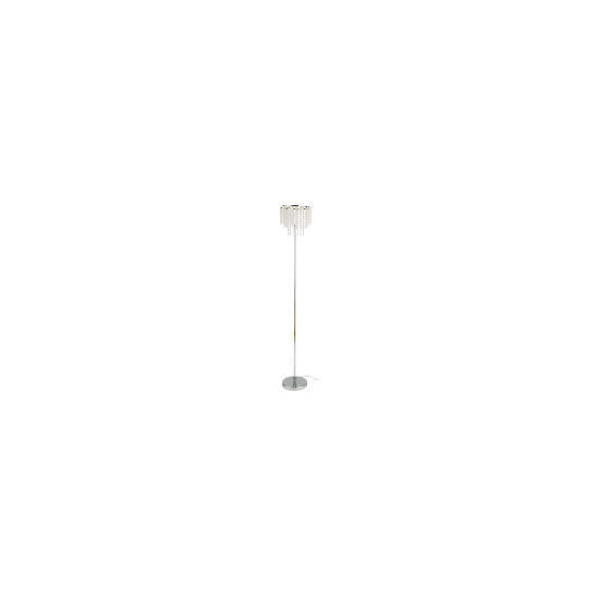 Tesco Glass Beaded Drum Floor Lamp