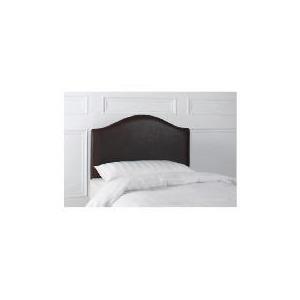 Photo of Laredo Double Faux LEATHR Headboard, Dark Brown Furniture
