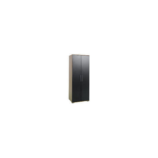 Paris 2 Door Wardrobe, Black