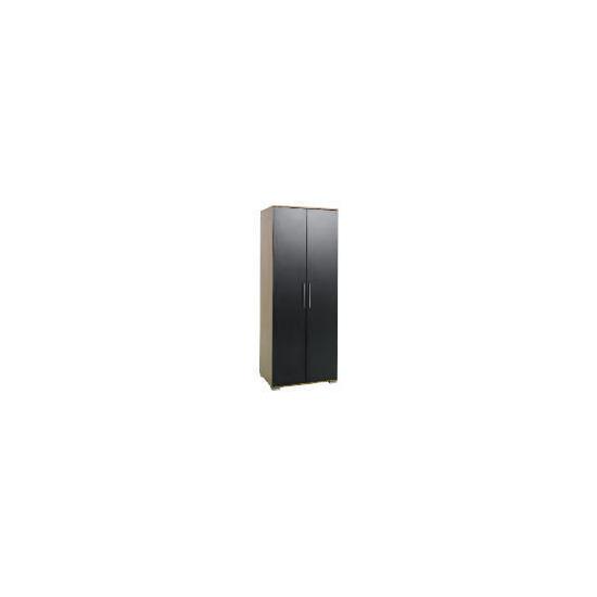 Paris 2 Door Wardrobe, Black