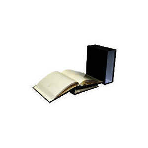 Photo of Tesco Box Of 2 Black Bonded Leather 7X5 Memo Book