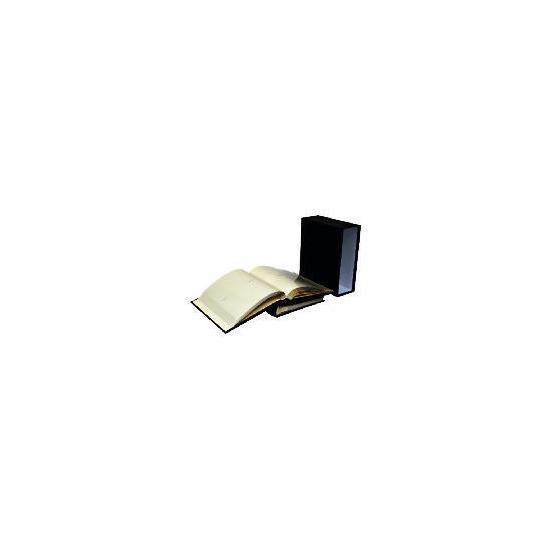 Tesco Box of 2 Black Bonded Leather 7x5 Memo