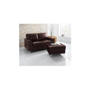 Photo of Westport Leather Sofa, Chocolate Furniture