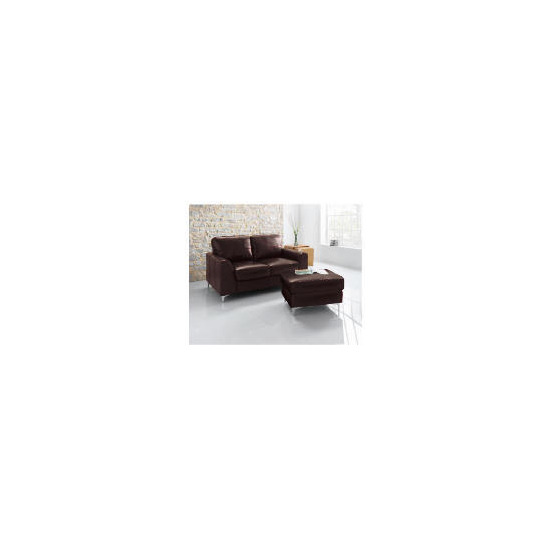 Westport Leather Sofa, Chocolate